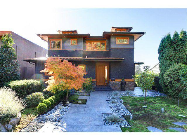 Main Photo: 1524 OTTAWA AV in West Vancouver: Ambleside House for sale : MLS®# V1045869