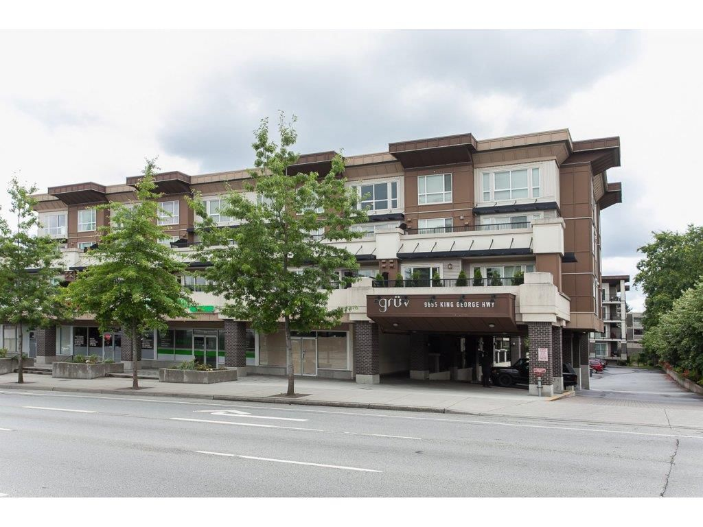 Main Photo: 331 9655 KING GEORGE BOULEVARD in Surrey: Whalley Condo for sale (North Surrey)  : MLS®# R2083002