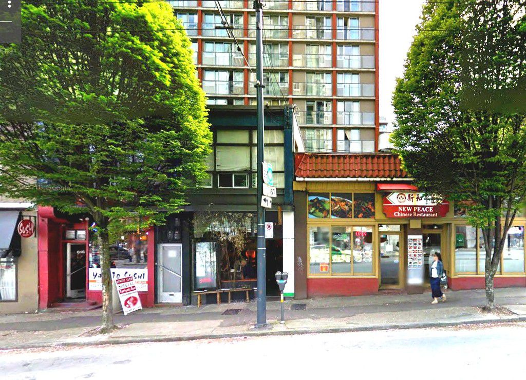 Main Photo: ~ 700 SQ FT RESTAURANT~ in : Downtown Business for lease (Vancouver West)  : MLS®# C8008456