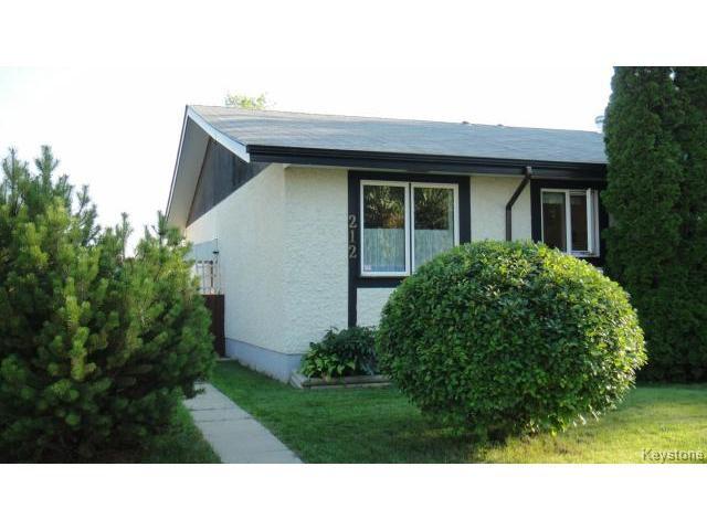 Main Photo: 212 Tu-Pelo Avenue in WINNIPEG: East Kildonan Residential for sale (North East Winnipeg)  : MLS®# 1421593