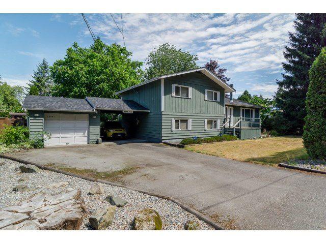 Main Photo: 20681 44TH AV in Langley: Langley City House for sale : MLS®# F1445433