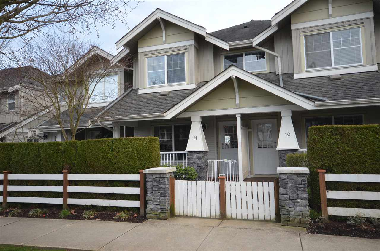 Main Photo: 11 6568 193B STREET in Surrey: Clayton Townhouse for sale (Cloverdale)  : MLS®# R2253405