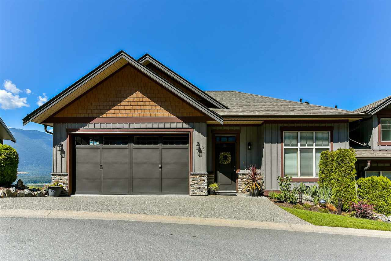 Main Photo: 23 43540 ALAMEDA DRIVE in Chilliwack: Chilliwack Mountain Townhouse for sale : MLS®# R2291720