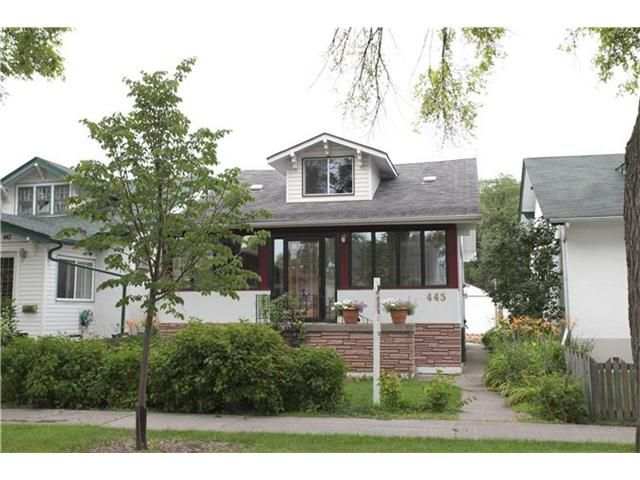 Main Photo: 445 Machray Avenue in WINNIPEG: North End Residential for sale (North West Winnipeg)  : MLS®# 1214923