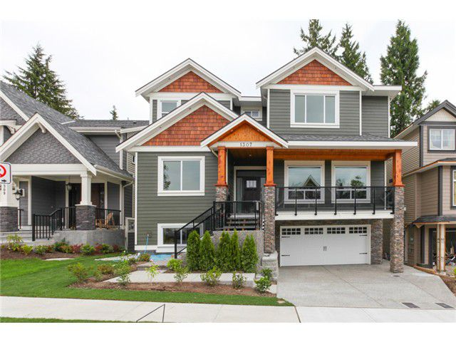 Main Photo: 1307 HOLLYBROOK ST in Coquitlam: Burke Mountain House for sale : MLS®# V1019035