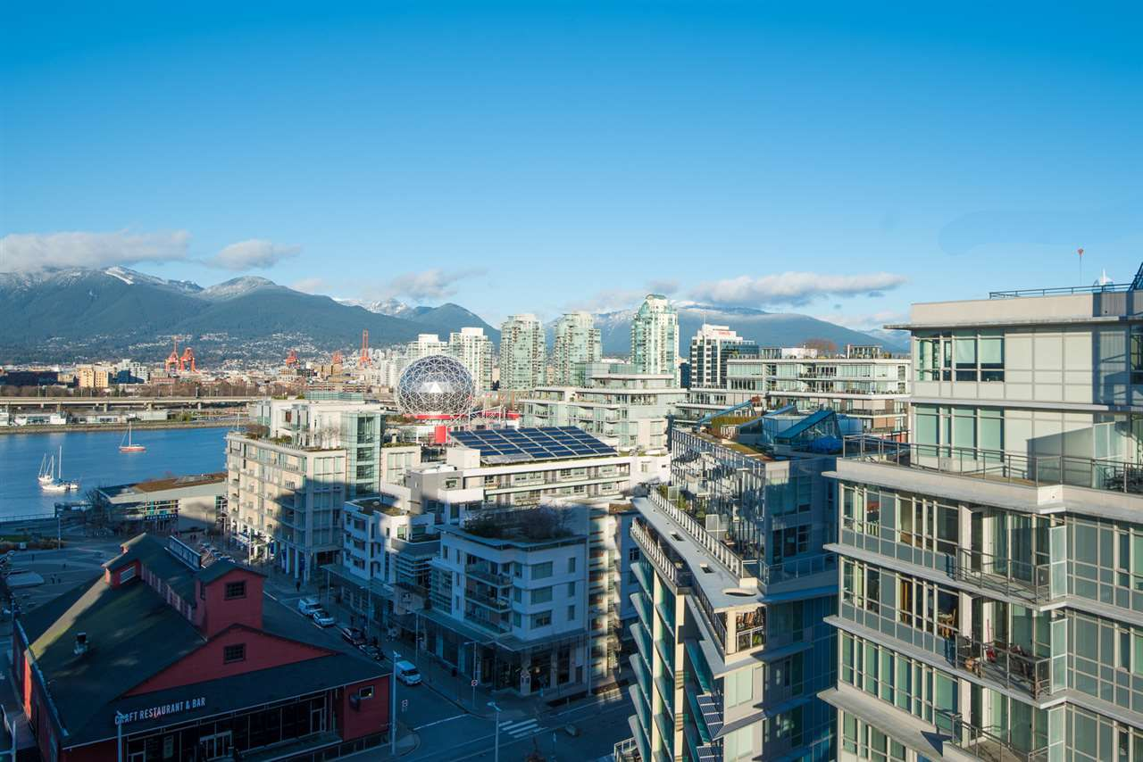 Main Photo: 1601- 1783 Manitoba Street in Vancouver: False Creek Commercial for sale (Vancouver East)  : MLS®# R2350975