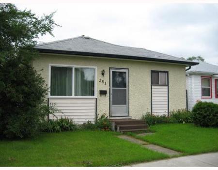 Main Photo: 251 TEMPLETON AVE.: Residential for sale (West Kildonan)  : MLS®# 2916267