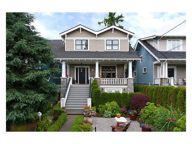 Main Photo: 3461 W 7TH AV in Vancouver: Kitsilano House 1/2 Duplex for sale (Vancouver West)  : MLS®# V1008132