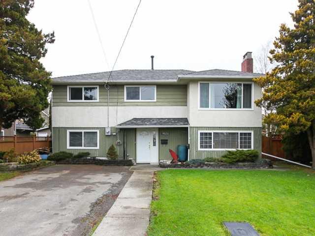 Main Photo: 9031 WELLMOND RD in Richmond: Seafair House for sale : MLS®# V1042958