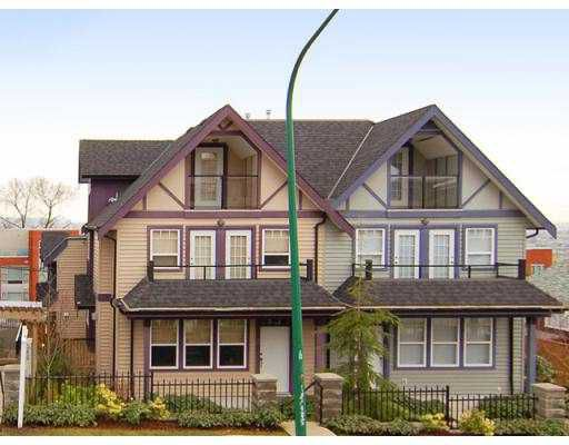 Main Photo: 3838 Albert in Burnaby: Vancouver Heights Townhouse for sale (Burnaby North)  : MLS®# V688598