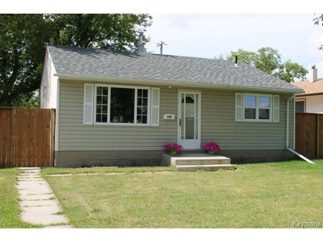 Main Photo: 776 Stewart Street in WINNIPEG: Westwood / Crestview Residential for sale (West Winnipeg)  : MLS®# 1419670
