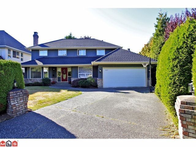 """Main Photo: 13027 19A Avenue in Surrey: Crescent Bch Ocean Pk. House for sale in """"Hampstead Heath"""" (South Surrey White Rock)  : MLS®# F1306264"""