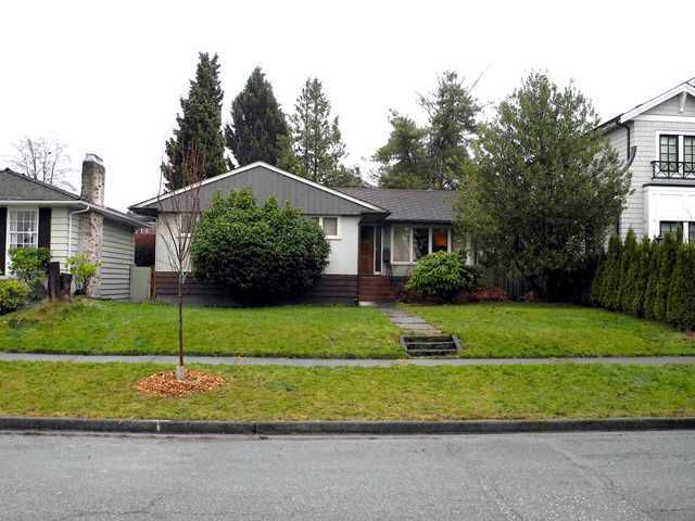 Main Photo: 3156 W 19TH AV in Vancouver: Arbutus House for sale (Vancouver West)  : MLS®# V1079646