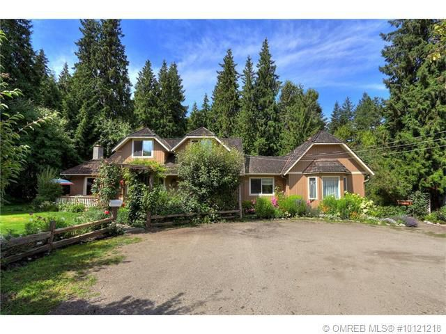 Main Photo: 4646 McClure Road in Kelowna: House for sale : MLS®# 10121218