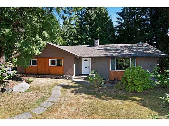 Main Photo: 1520 TAYLOR WAY in WEST VANC: British Properties House for sale (West Vancouver)  : MLS®# V1141702