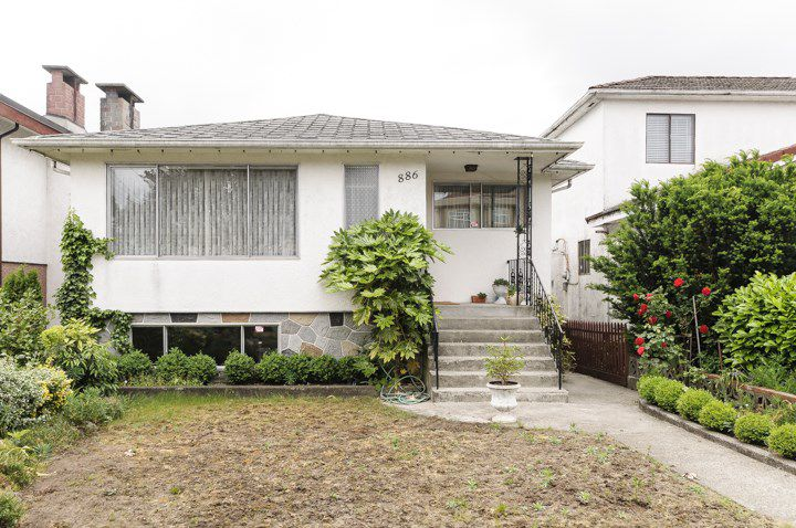 Main Photo: 886 E 55TH AVENUE in Vancouver: South Vancouver House for sale (Vancouver East)  : MLS®# R2072189