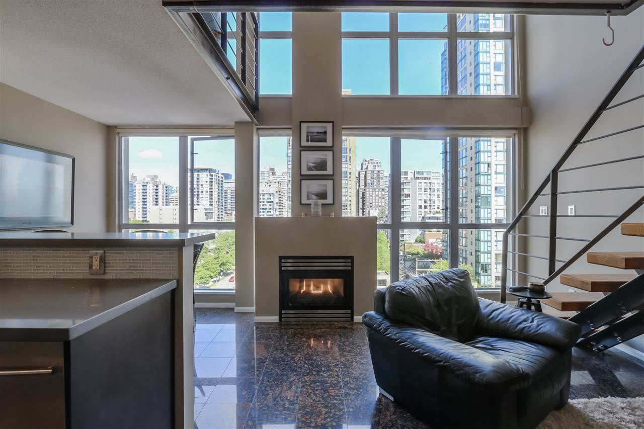 Main Photo: 806 1238 RICHARDS STREET in Vancouver: Yaletown Condo for sale (Vancouver West)  : MLS®# R2068164