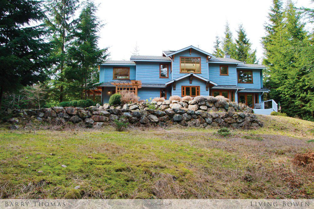 Main Photo: 321 Josephine Drive: Bowen Island House for sale : MLS®# V1057096