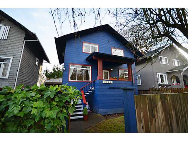 Main Photo: 2748 ST GEORGE Street in Vancouver: Mount Pleasant VE House for sale (Vancouver East)  : MLS®# V982259