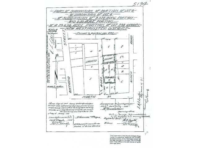 Main Photo: 11770 FRASER Street in Maple Ridge: East Central Commercial for sale : MLS®# V4040954