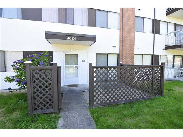 "Main Photo: 105 8080 RYAN Road in Richmond: South Arm Condo for sale in ""BRISTOL COURT"" : MLS®# V1015666"