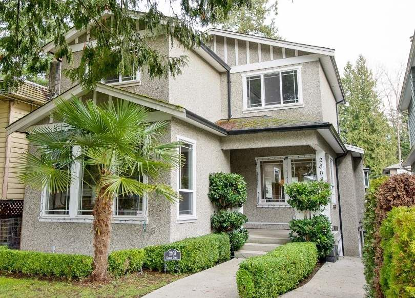 Main Photo: 2408 George in North Vancouver: Pemberton Heights House for sale : MLS®# R2048808