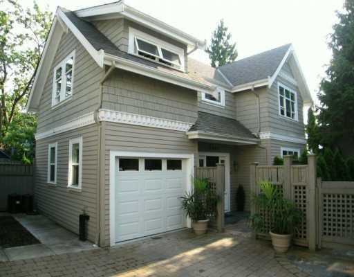 Main Photo: 2480 W 5TH AV in Vancouver: Kitsilano House for sale (Vancouver West)  : MLS®# V596900