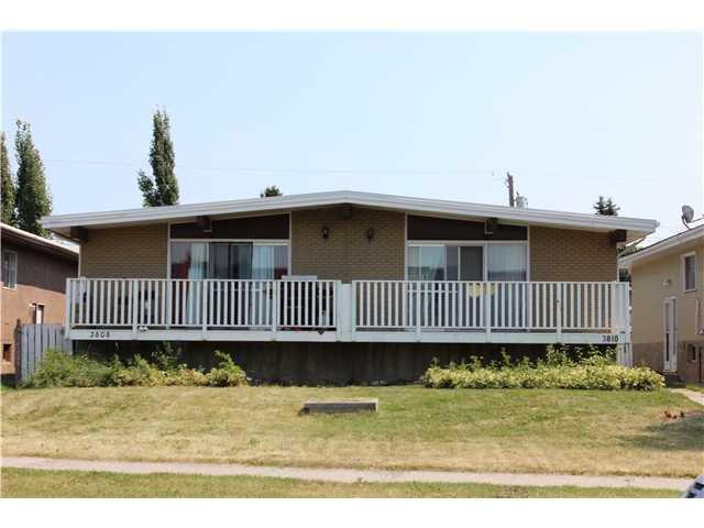 Main Photo: 3810 45 Street SW in CALGARY: Glenbrook Duplex Side By Side for sale (Calgary)  : MLS®# C3629922