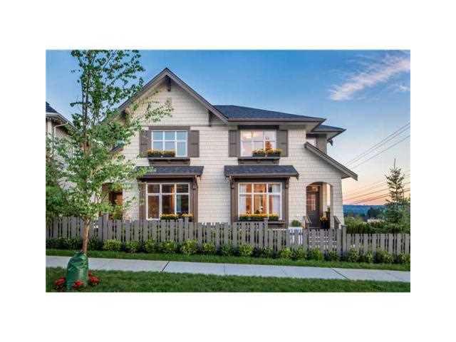 Main Photo: # 5 3400 DEVONSHIRE AV in Coquitlam: Burke Mountain Townhouse for sale : MLS®# V1141100