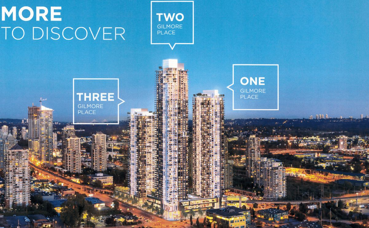 Main Photo: ONNI-Gilmore-Place-4168-Lougheed-Hwy-Burnaby-Tower 3