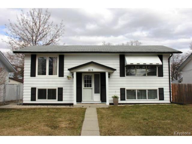 Main Photo: 815 Isbister Street in WINNIPEG: Westwood / Crestview Residential for sale (West Winnipeg)  : MLS®# 1409219