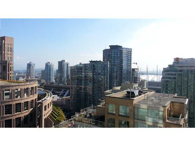 """Main Photo: 1906 833 HOMER Street in Vancouver: Downtown VW Condo for sale in """"ATELIER"""" (Vancouver West)  : MLS®# V1022709"""