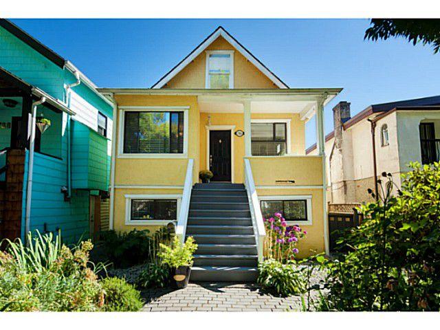 Main Photo: 786 E 19TH AV in Vancouver: Fraser VE House for sale (Vancouver East)  : MLS®# V1085534