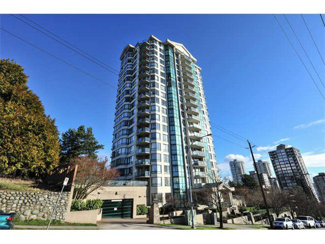 Main Photo: 1106 121 TENTH Street in NEW WESTMINSTER: Uptown NW Condo for sale (New Westminster)  : MLS®# v1100656