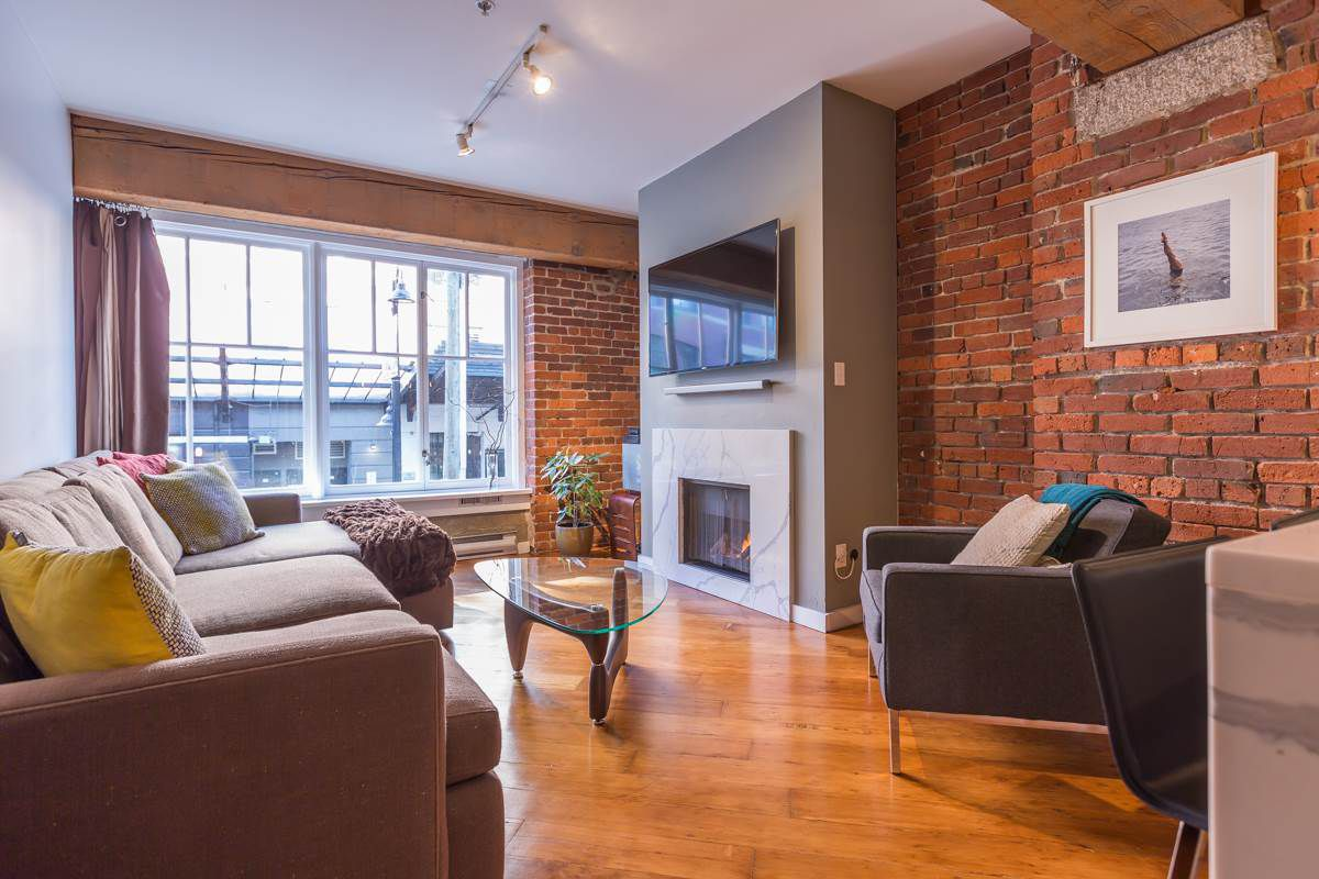 Main Photo: 201 1178 HAMILTON STREET in Vancouver: Yaletown Condo for sale (Vancouver West)  : MLS®# R2038460