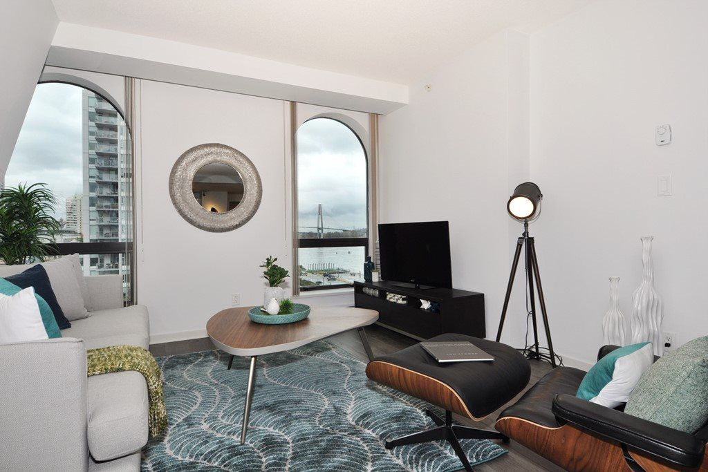 Main Photo: 1006 14 BEGBIE STREET in New Westminster: Quay Condo for sale : MLS®# R2120711
