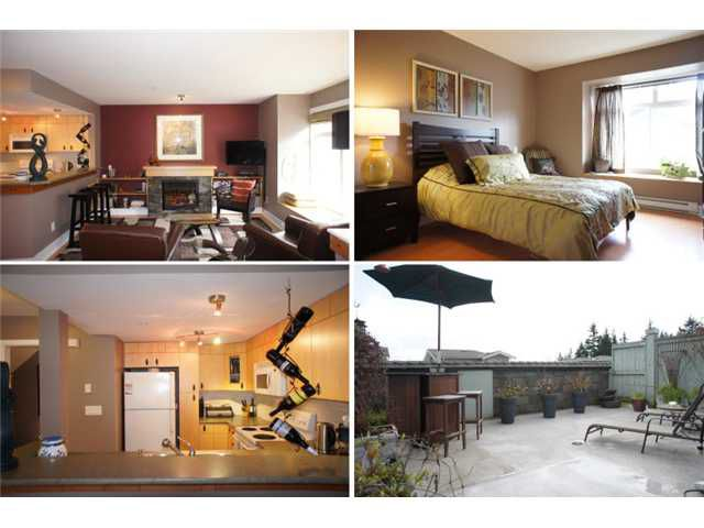 """Main Photo: 43 7428 SOUTHWYNDE Avenue in Burnaby: South Slope Townhouse for sale in """"LEDGESTONE 2"""" (Burnaby South)  : MLS®# V938028"""