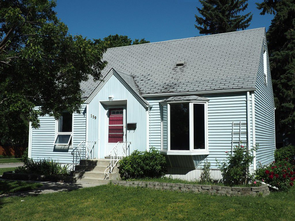 Main Photo: 159 Ashland Avenue in Winnipeg: Fort Rouge / Crescentwood / Riverview Single Family Detached for sale (Central Winnipeg)  : MLS®# 1516673