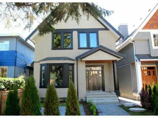 Main Photo: 2762 W 3RD AV in : Kitsilano House 1/2 Duplex for sale : MLS®# V852882