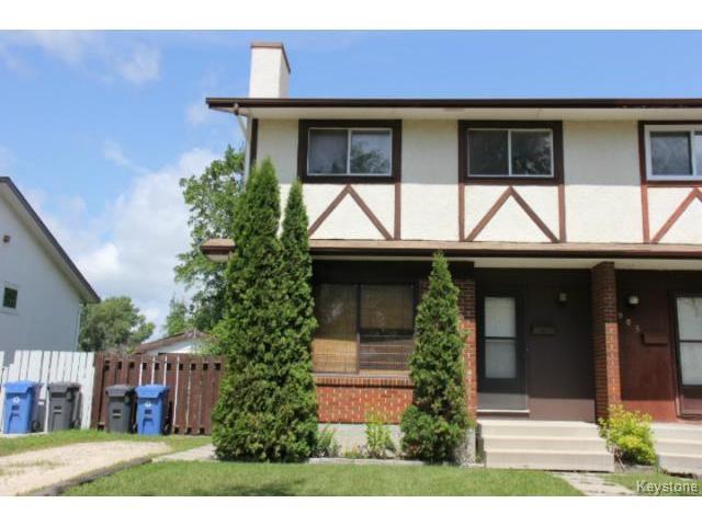 Main Photo: 983 Kimberly Avenue in WINNIPEG: East Kildonan Residential for sale (North East Winnipeg)  : MLS®# 1417155