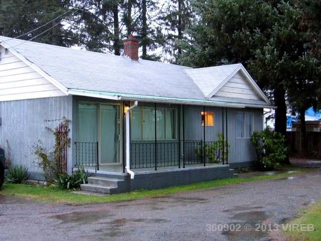 Main Photo: 2500 Island Hwy in Campbell RIver: House for sale : MLS®# 360902