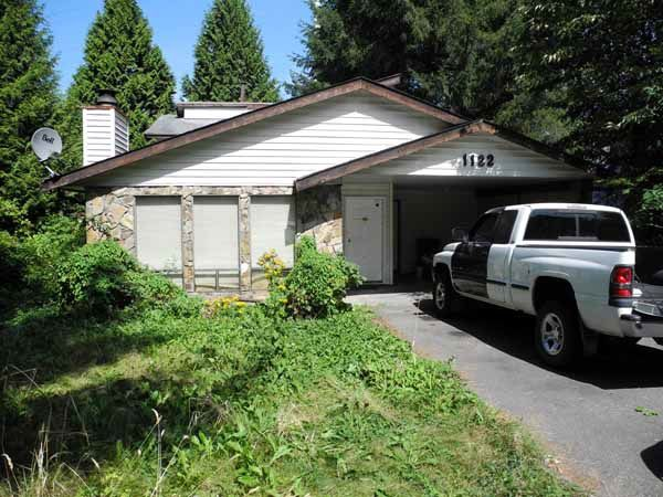 Main Photo: 1122 WALLACE COURT in Coquitlam: Ranch Park House for sale : MLS®# R2007485