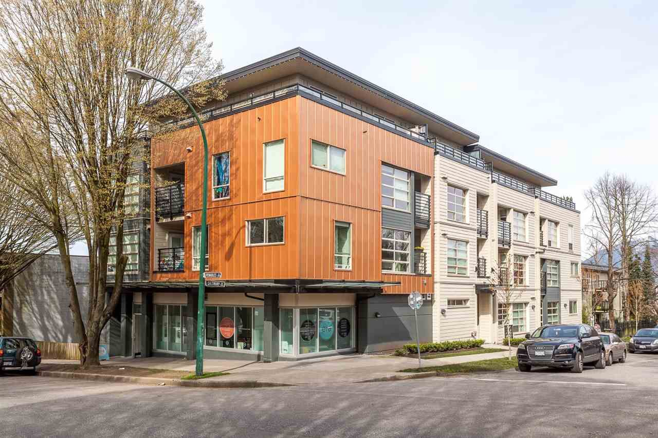 Main Photo: 206 885 SALSBURY DRIVE in Vancouver: Hastings Condo for sale (Vancouver East)  : MLS®# R2047920