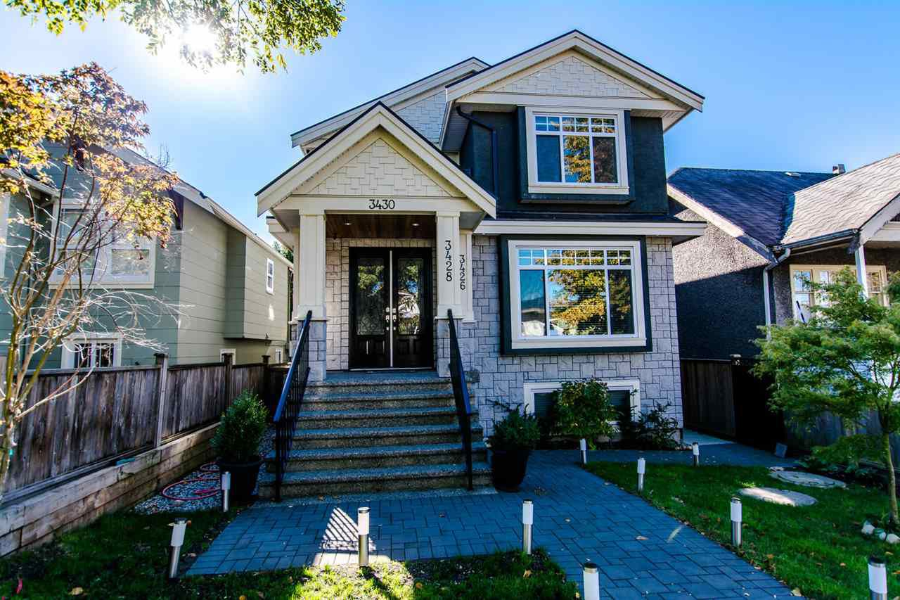 Main Photo: 3430 FRANKLIN STREET in Vancouver: Hastings East House for sale (Vancouver East)  : MLS®# R2115914