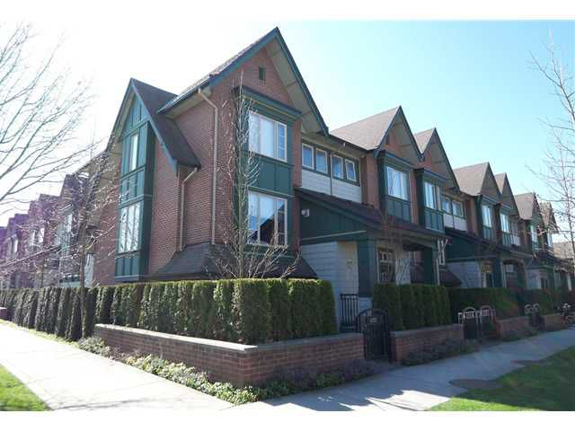 Main Photo: 6202 LOGAN Lane in Vancouver: University VW Townhouse for sale (Vancouver West)  : MLS®# V931495