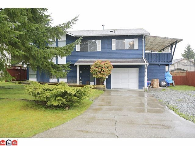 "Main Photo: 26826 32A Avenue in Langley: Aldergrove Langley House for sale in ""Parkside"" : MLS®# F1209517"