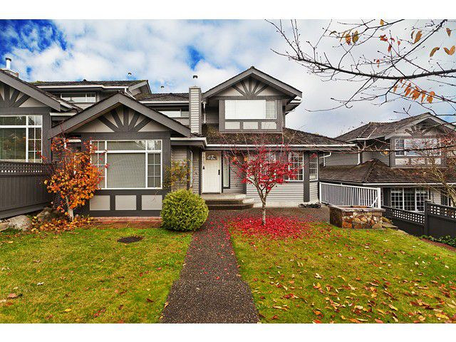 Main Photo: # 103 1685 PINETREE WY in Coquitlam: Westwood Plateau Townhouse for sale : MLS®# V1036037