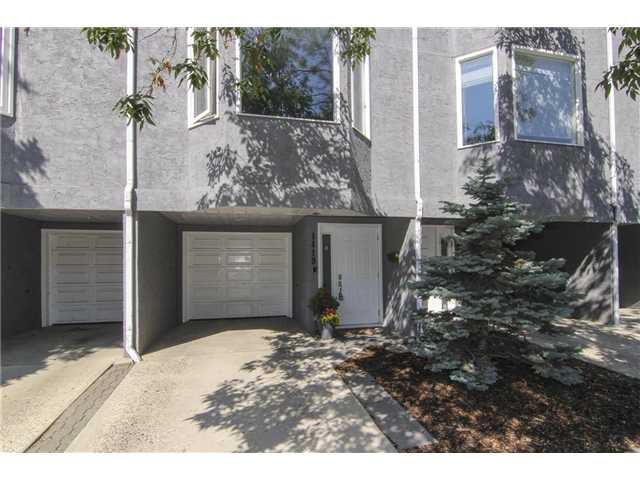 Main Photo: 1419 10 Street SW in CALGARY: Connaught Townhouse for sale (Calgary)  : MLS®# C3630145