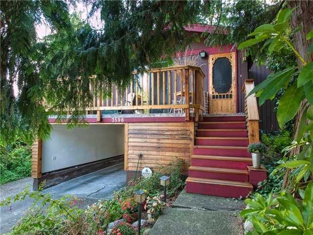 Main Photo: 3598 MARSHALL Street in Vancouver: Grandview VE House for sale (Vancouver East)  : MLS®# V967849
