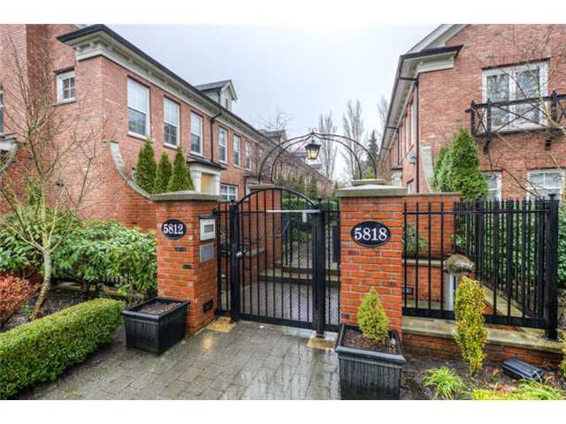 """Main Photo: 22 5818 TISDALL Street in Vancouver: Oakridge VW Townhouse for sale in """"TOWNE 1"""" (Vancouver West)  : MLS®# V1005568"""